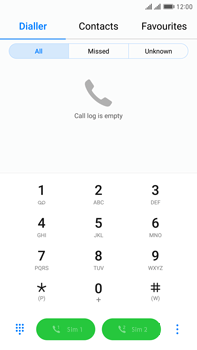 Huawei Mate 9 Pro - Voicemail - Manual configuration - Step 3