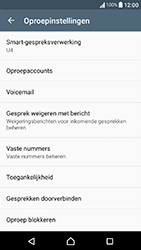 Sony Xperia X Compact - Voicemail - Handmatig instellen - Stap 5