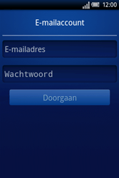 Sony Ericsson Xperia X8 - E-mail - Handmatig instellen - Stap 5