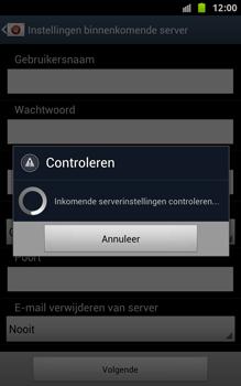 Samsung N7000 Galaxy Note - OS 4 ICS - E-mail - handmatig instellen - Stap 12