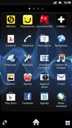 Sony Xpéria S - Internet et connexion - Naviguer sur internet - Étape 3