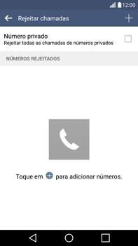 LG G4 - Chamadas - Como bloquear chamadas de um número -  8