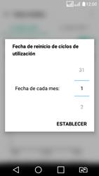 LG K4 (2017) - Internet - Ver uso de datos - Paso 7
