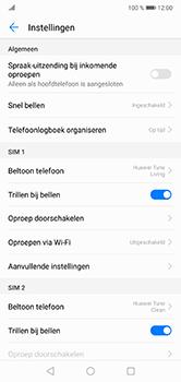 Huawei P20 Lite - Voicemail - handmatig instellen - Stap 6