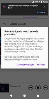Sony Xperia XZ2 - Photos, vidéos, musique - Ecouter de la musique - Étape 7