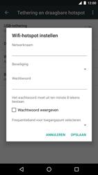 LG Nexus 5X - WiFi - Mobiele hotspot instellen - Stap 7