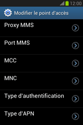 Samsung S6790 Galaxy Fame Lite - Internet - configuration manuelle - Étape 14