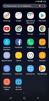 Samsung Galaxy S8 Plus - MMS - Envoi d