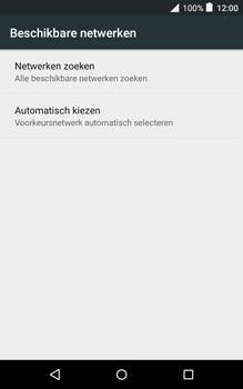 Alcatel Pixi 3 (8) - Netwerk - Handmatig netwerk selecteren - Stap 10