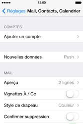 Apple iPhone 4 - E-mails - Ajouter ou modifier votre compte Outlook - Étape 4