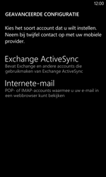 Nokia Lumia 625 - E-mail - Account instellen (POP3 zonder SMTP-verificatie) - Stap 10