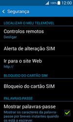 Samsung Galaxy Trend 2 Lite - Segurança - Como ativar o código PIN do cartão de telemóvel -  5