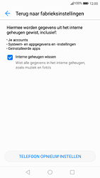 Huawei P9 - Android Nougat - Toestel reset - terugzetten naar fabrieksinstellingen - Stap 6