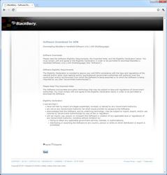 BlackBerry 8520 Curve - Software - Update installeren via PC - Stap 4