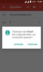 Alcatel Pixi 4 (4) - E-mail - Hoe te versturen - Stap 7
