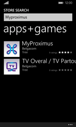 Microsoft Lumia 532 - Applications - MyProximus - Step 7