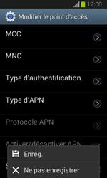 Samsung I8730 Galaxy Express - MMS - Configuration manuelle - Étape 15