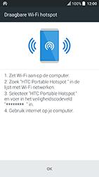 HTC U Play (Model 2PZM3) - WiFi - Mobiele hotspot instellen - Stap 10