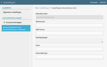 Samsung Galaxy Tab S 10.5 4G (SM-T805) - E-mail - Instellingen KPNMail controleren - Stap 12