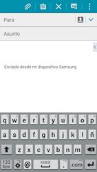 Samsung Galaxy A3 - E-mail - Escribir y enviar un correo electrónico - Paso 5