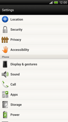 HTC S720e One X - Voicemail - Manual configuration - Step 4