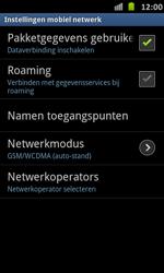 Samsung I9070 Galaxy S Advance - Netwerk - Handmatig netwerk selecteren - Stap 13
