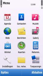 Nokia C5-03 - SMS - handmatig instellen - Stap 3