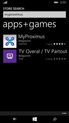 Nokia Lumia 735 - Applications - MyProximus - Step 7