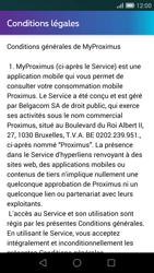 Huawei Ascend G7 - Applications - MyProximus - Étape 10