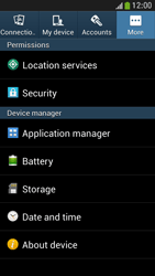 Samsung I9195 Galaxy S IV Mini LTE - Network - Installing software updates - Step 4