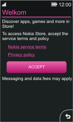 Nokia Asha 311 - Applications - Downloading applications - Step 4