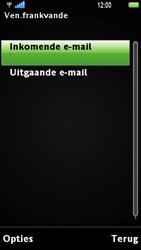 Sony Ericsson U1i Satio - E-mail - Handmatig instellen - Stap 16