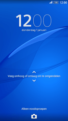 Sony E2003 Xperia E4 G - Device maintenance - Een soft reset uitvoeren - Stap 5