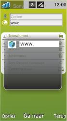 Sony Ericsson U10i Aino - Internet - Hoe te internetten - Stap 5
