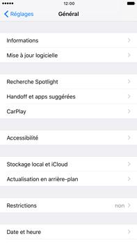 Apple Apple iPhone 6 Plus iOS 10 - Appareil - Mises à jour - Étape 5