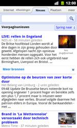 Google Nexus S - Internet - Hoe te internetten - Stap 7