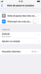 Apple iPhone 5s - iOS 12 - E-mail - Configurer l