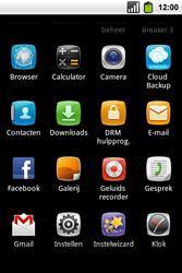 Alcatel OT-991 Smart - Voicemail - Handmatig instellen - Stap 3