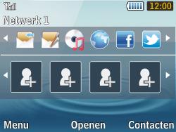 Samsung S3570 Chat 357 - Bellen - in het buitenland - Stap 10