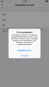 Apple iPhone 6 Plus iOS 11 - Netwerk - 4G activeren - Stap 7