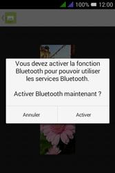Alcatel Pixi 3 Dual Sim - Photos, vidéos, musique - Envoyer une photo via Bluetooth - Étape 12