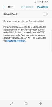 Samsung Galaxy S8 - WiFi - Conectarse a una red WiFi - Paso 6