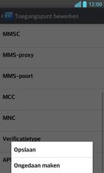 LG E460 Optimus L5 II - MMS - Handmatig instellen - Stap 15