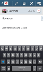 Samsung Galaxy Trend Plus S7580 - Email - Sending an email message - Step 18