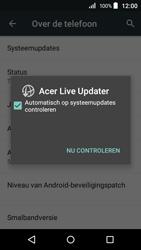 Acer Liquid Z320 - Netwerk - Software updates installeren - Stap 7