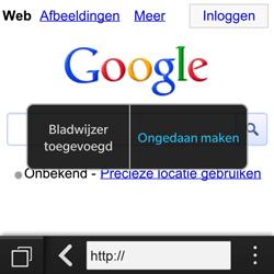 BlackBerry Q10 - Internet - hoe te internetten - Stap 6