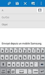 Samsung G355 Galaxy Core 2 - E-mail - envoyer un e-mail - Étape 4