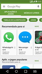 LG K8 - Aplicativos - Como baixar aplicativos - Etapa 6