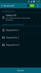 Samsung G900F Galaxy S5 - Bluetooth - Conectar dispositivos a través de Bluetooth - Paso 6