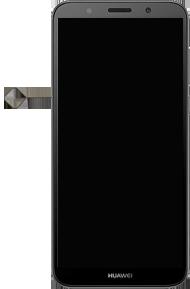 Huawei Y5 (2018) - Premiers pas - Insérer la carte SIM - Étape 2